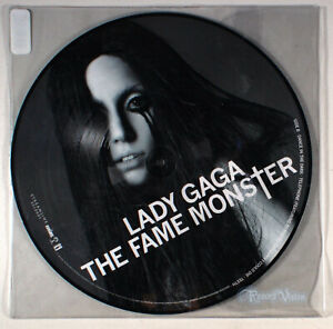 Lady Gaga - The Fame Monster (Picture Disc) (2009) [SEALED] Vinyl LP • Telephone