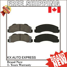 FRONT CERAMIC BRAKE PADS FOR FORD F-150 2010 2011 2012 2013 2014 2015