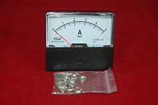 Dc 5a Analog Ammeter Panel Amp Current Meter Dc 0 5a 6070mm Directly Connect
