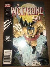 The Wolverine Saga Book One: Beginnings NM/M 9.6 Marvel TPB