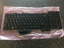 Dell Precision M6400 M6500 UK ENGLISH Backlit Keyboard X913D