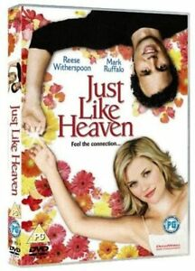 JUST LIKE HEAVEN DVD Reese Witherspoon Mark Ruffalo Region 4 NEW & SEALED