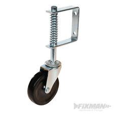 Fixman Gefederte Laufrolle Lenkrolle für Schiebetore 100mm 57kg 455654