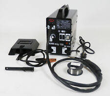 Gasless Mig Welder 130 New No Gas 120 amp Flux wire NON LIVE TORCH DProT