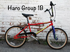 Old School Early 1992 Haro Group 1 Series B racing BMX Bike, NOS Original