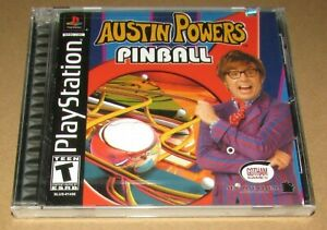 Austin Powers Pinball (Sony Playstation 1) Brand New / Fast Shipping