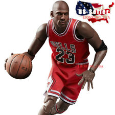 "1/6 Michael Jordan Red Chicago Bulls Jersey 23 For 12"" Enterbay Hot Toys ❶USA❶"