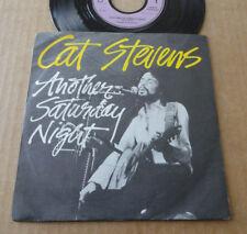 "DISQUE 45T DE CAT STEVENS  "" ANOTHER SATURDAY NIGHT """