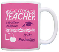 Gift for Special Education Teacher Gift Official Title Coffee Mug Tea Cup