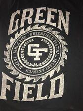 Greenfield Music Festival 2016 Rock Concert Black T-Shirt. Adult M Medium. BT17