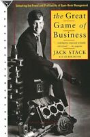 The Great Game of Business: Unlocking the Power and Profitability of Open-Book M