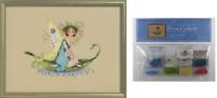 Nora Corbett Mirabilia Cross Stitch PATTERN & EMBELLISHMENTS Pond Lily NC263