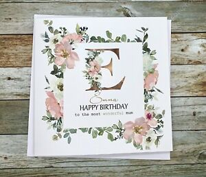 Personalised Birthday Card,Daughter,Granddaughter,Sister,Niece,Friend, mum,cute