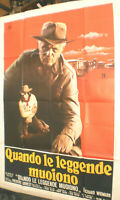 XXL Filmplakat,Plakat,QUANDO LE LEGGENDE MUOIONO,RICHARD WIDMARK,F FORREST #144