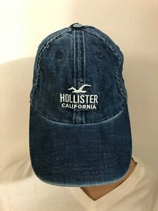 NEW Hollister Chino Baseball Adjustable buckled strap Cap Hat By Abercrombie