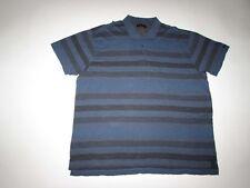 Calvin Klein Jeans Men's Polo Shirt Size 3XL NWT Short Sleeves Blue Gray 3X CK