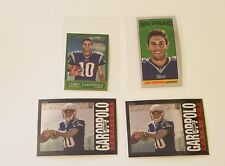 2014 TOPPS CHROME 4 CARD LOT!! JIMMY GAROPPOLO   1985,1963,TALL BOY
