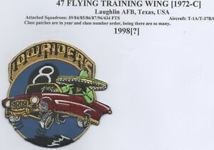 US Air Force 47th Flying Training Wing, Course 98-08 patch, Lowriders