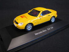 "Herpa Mercedes-Benz SLK 230 1:43 Yellow ""Auto Sportief"" (JvM)"