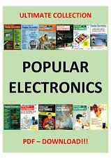HUGE COLLECTION POPULAR ELECTRONICS MAGAZINE 1954 - 2003 - PDF DOWNLOAD!!!