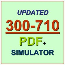 CCNP Security Securing Networks Cisco Firepower SNCF Test 300-710 Exam Q PDF+SIM