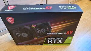MSI GeForce RTX 3060 GAMING X 12GB *Brand New* *Unopened* *In Hand*