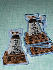 1 New 1994 CHL Hockey Jersey Patch Rare Uniform Crest Memorial Trophy Champions