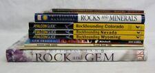 Rocks & Gems Rockhounding Wyoming Nevada Colorado Gem Trails Book Lot of 10
