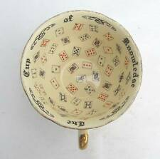 Vintage Fortune Telling Tea Cup The Cup Of Knowledge