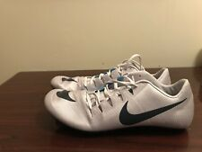 16237e052fa7 Nike Zoom Ja Fly 3 Track Spikes Cement Grey Blue 865633-004 Mens Sz 12.5