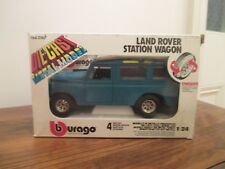Bburago Land Rover Station Wagon (0167) 1/24 Scale. Made in Italy.