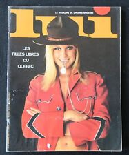 Revue LUI n°47 novembre 1967 ASLAN érotica érotique