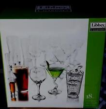 Charisma by Libby 18 Piece Glassware Set - BRAND NEW IN BOX - GREAT SET