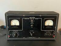 Vintage Triplett 1696 Modulation Monitor Test Equipment Great Steampunk Look