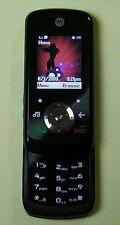 GSM Black Portable Mobile Slider Phone Motorola EM326G Noir