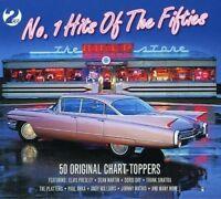 NO 1 HITS OF THE FIFTIES 2 CD NEW!  NAT KING COLE/ELVIS PRESLEY/DORIS DAY/+