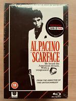 Al Pacino Scarface 1983 Ltd Ed VHS Video Style Blu-ray + DVD Box Set BNIB