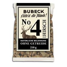 Hundekeks Bubeck getreidefrei mit Hirsch, Hundekuchen 210 g (100g = 1,38 EUR)