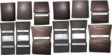 Lot of 12 Men's Wallet. Genuine Leather Trifold Wallet, Men's Billfold wallet BN