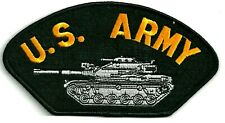 ARMY TANK - IRON or SEW ON PATCH