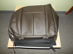New OEM 2012-2016 Isuzu D-Max Crew Cab Rear LH Seat Cushion Cover Leather Brown