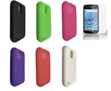 FIlm + Silicone Cover Case for Samsung Galaxy S 2 II S2 X SGH-T989 SGH-T989D