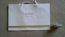Skagen Empty Paper Carrier Gift Bag White