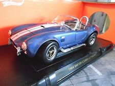 AC SHELBY COBRA FORD v8 427 S/C BLUE WHITE Muscle prezzo speciale Yatming 1:18