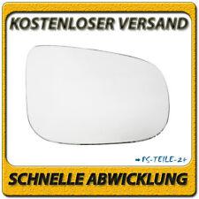 Spiegelglas für VOLVO S60 II S80 II V40 II V60 V70 III 2010-2017 rechts konvex