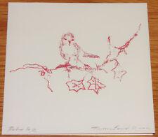 Tracey EMIN - Robin Christmas Card