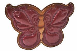Auth Louis Vuitton Vernis Pochette Butterfly Shoulder Pouch Bordeaux LV C2597