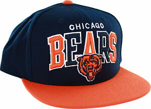 Chicago Bears Two-Tone Arch Snapback Cap