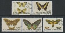 St Thomas & Prince Islands - 1992 Butterflies set - F/U (e)