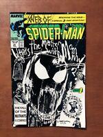 Web Of Spiderman #33 (1987) 8.5 VF Marvel Comic Book Copper Age High Grade